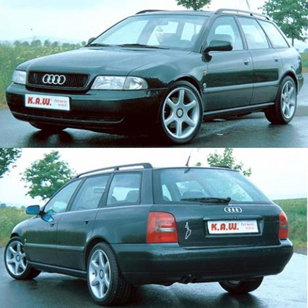 Kaw Tieferlegungsfedern Audi A4 Avant Günstig Kaufen Kaw Federn